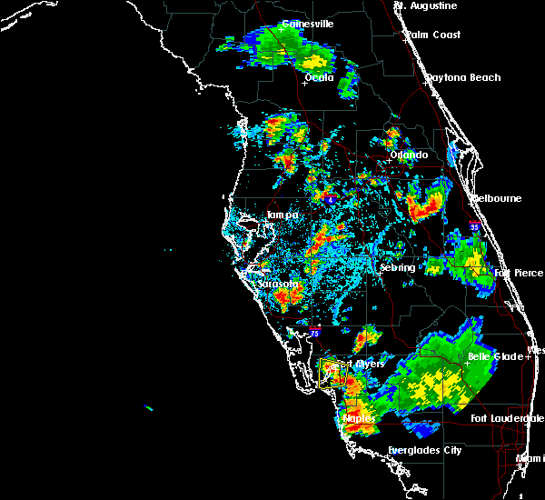 Radar Image for Severe Thunderstorms near Lochmoor Waterway Estates, FL at 7/3/2015 5:48 PM EDT