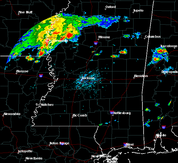 Radar Image for Severe Thunderstorms near Sunflower, MS at 7/3/2015 4:59 PM CDT