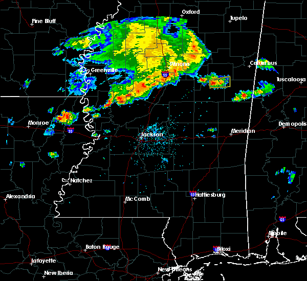 Radar Image for Severe Thunderstorms near Eden, MS at 7/3/2015 6:46 PM CDT