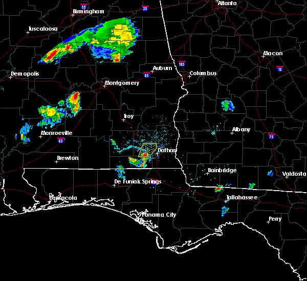 Radar Image for Severe Thunderstorms near Ozark, AL at 7/3/2015 7:06 PM CDT