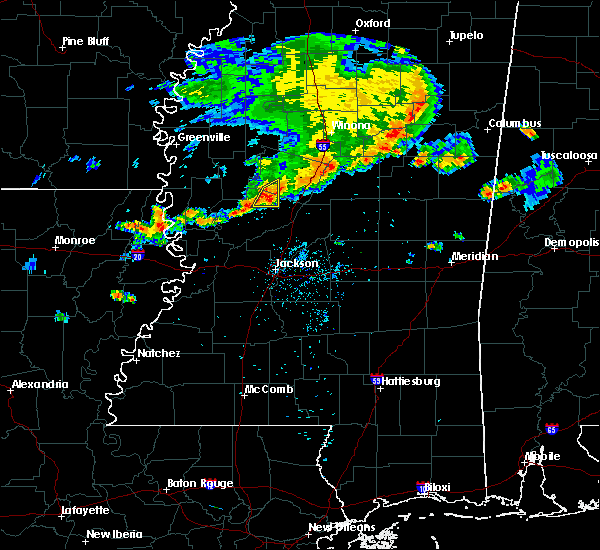 Radar Image for Severe Thunderstorms near Eden, MS at 7/3/2015 7:15 PM CDT