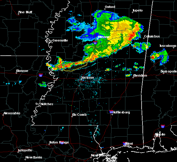 Radar Image for Severe Thunderstorms near Satartia, MS at 7/3/2015 7:43 PM CDT