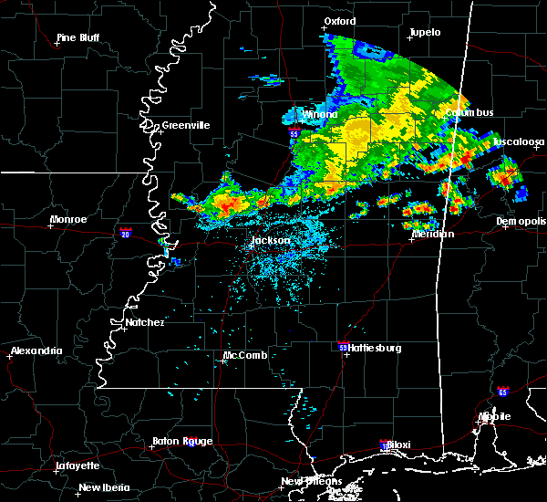 Radar Image for Severe Thunderstorms near Flora, MS at 7/3/2015 8:26 PM CDT
