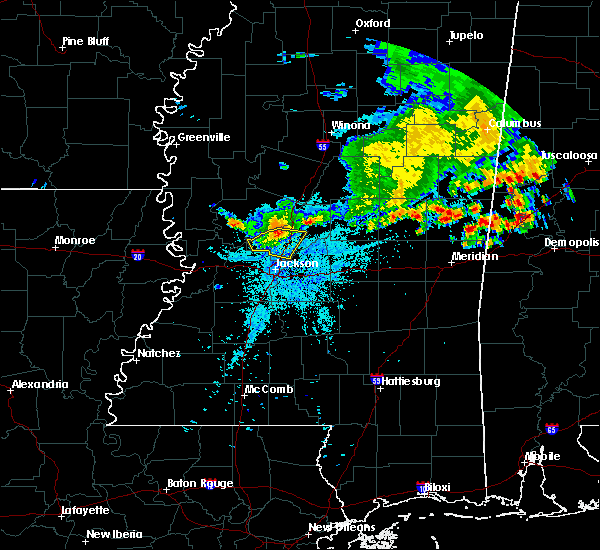 Radar Image for Severe Thunderstorms near Flora, MS at 7/3/2015 8:46 PM CDT