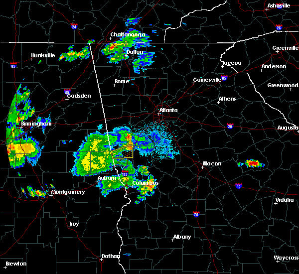 Radar Image for Severe Thunderstorms near Haralson, GA at 7/3/2015 11:26 PM EDT