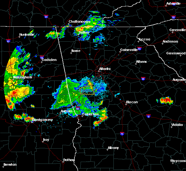 Radar Image for Severe Thunderstorms near Haralson, GA at 7/3/2015 11:53 PM EDT