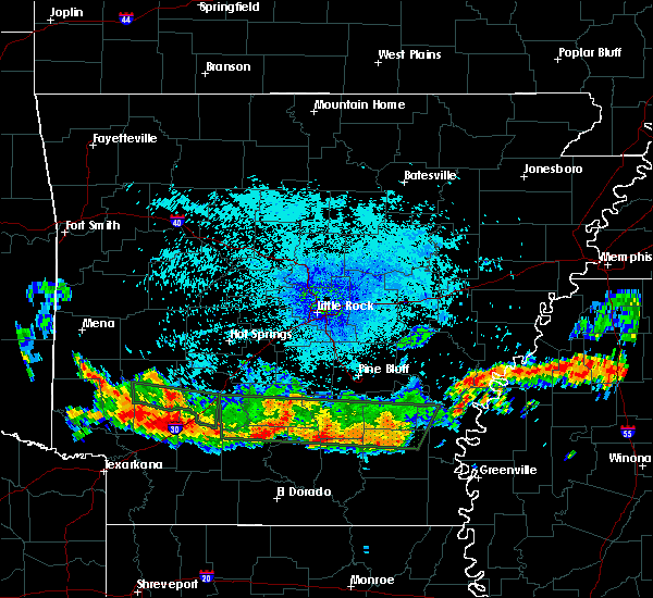 Radar Image for Severe Thunderstorms near Prescott, AR at 7/4/2015 2:34 AM CDT