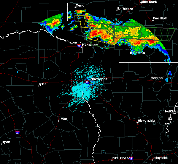 Radar Image for Severe Thunderstorms near Ozan, AR at 7/4/2015 3:33 AM CDT