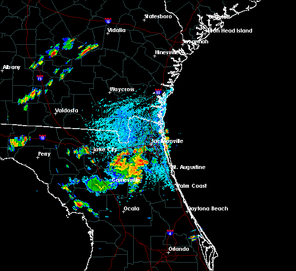 Radar Image for Severe Thunderstorms near Asbury Lake, FL at 7/4/2015 1:52 PM EDT