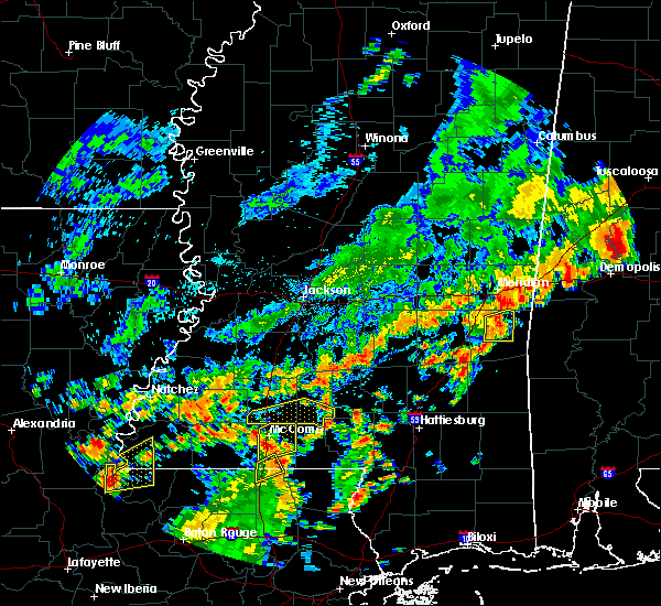 Radar Image for Severe Thunderstorms near Bogue Chitto, MS at 7/4/2015 1:57 PM CDT