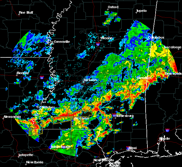 Radar Image for Severe Thunderstorms near Prentiss, MS at 7/4/2015 2:16 PM CDT