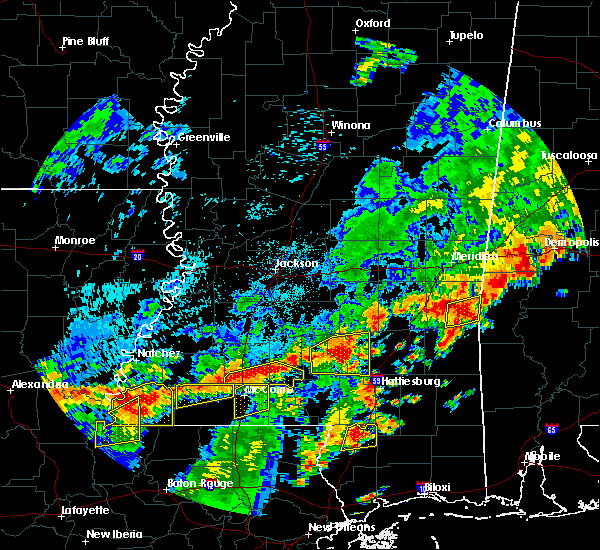 Radar Image for Severe Thunderstorms near Arnold Line, MS at 7/4/2015 2:31 PM CDT