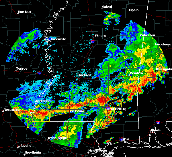 Radar Image for Severe Thunderstorms near Ellisville, MS at 7/4/2015 2:43 PM CDT