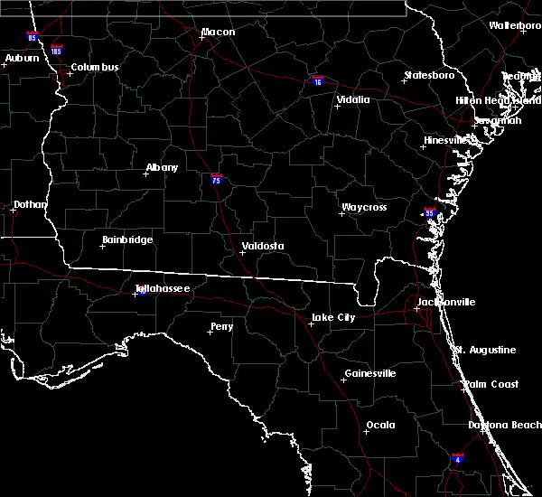 Radar Image for Severe Thunderstorms near Valdosta, GA at 7/4/2015 3:52 PM EDT