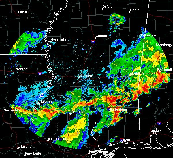 Radar Image for Severe Thunderstorms near Ellisville, MS at 7/4/2015 3:00 PM CDT