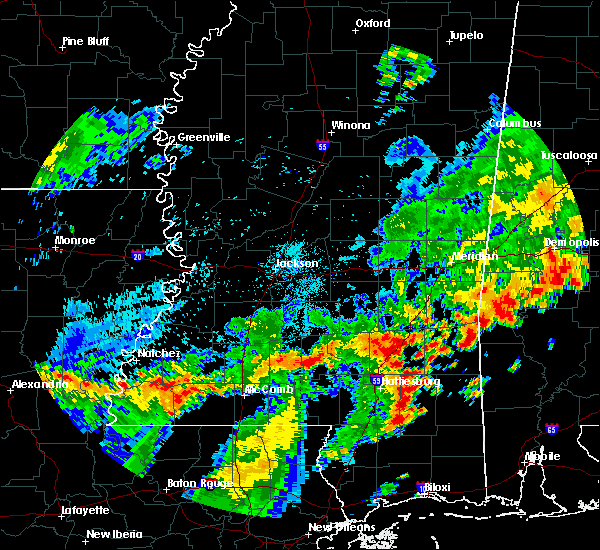 Radar Image for Severe Thunderstorms near Ellisville, MS at 7/4/2015 3:02 PM CDT