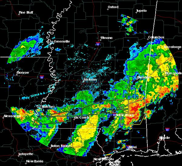Radar Image for Severe Thunderstorms near Ellisville, MS at 7/4/2015 3:27 PM CDT