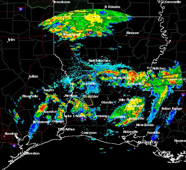 Radar Image for Severe Thunderstorms near Singer, LA at 7/4/2015 3:30 PM CDT