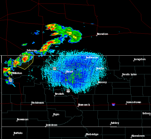 Radar Image for Severe Thunderstorms near Ray, ND at 7/4/2015 3:57 PM CDT