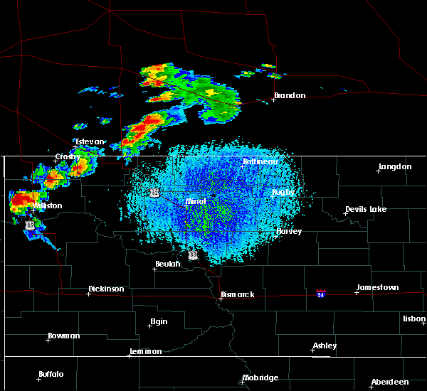 Radar Image for Severe Thunderstorms near Ray, ND at 7/4/2015 4:11 PM CDT