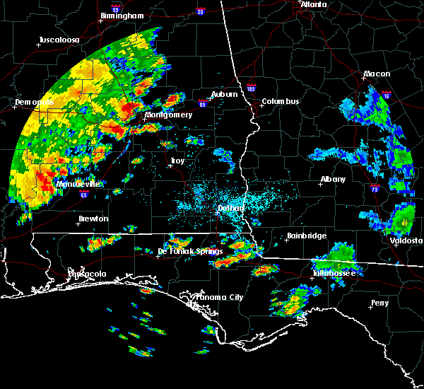 Radar Image for Severe Thunderstorms near Monroeville, AL at 7/4/2015 5:08 PM CDT