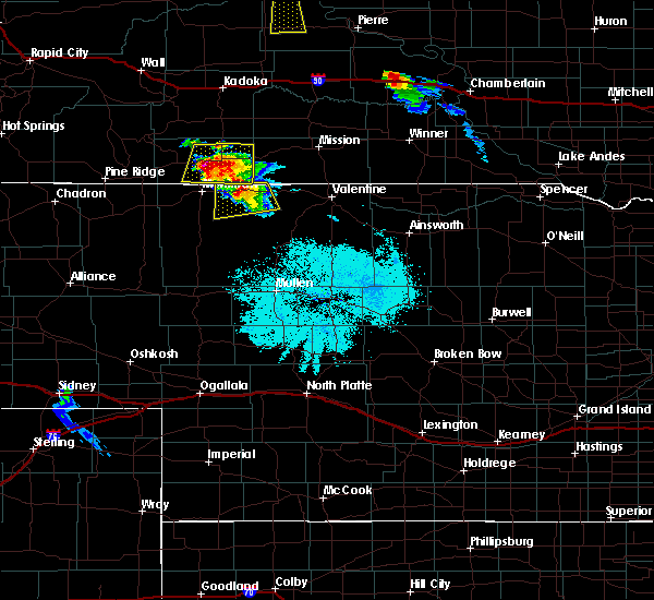 Radar Image for Severe Thunderstorms near Cody, NE at 7/4/2015 9:18 PM MDT