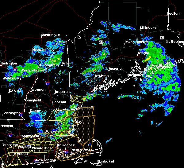 Radar Image for Severe Thunderstorms near Sanford, ME at 10/7/2020 5:57 PM EDT