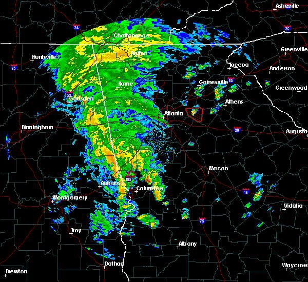 Radar Image for Severe Thunderstorms near Concord, GA at 10/10/2020 5:30 PM EDT