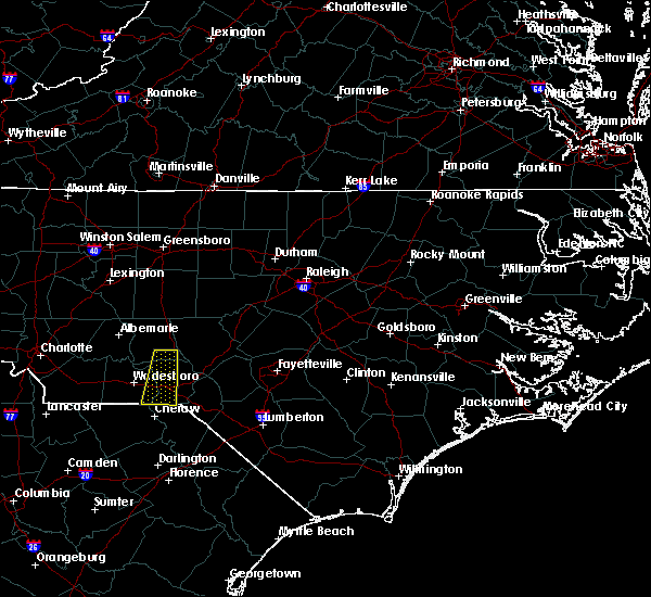 Radar Image for Severe Thunderstorms near Cordova, NC at 10/11/2020 3:08 PM EDT