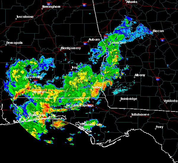 Radar Image for Severe Thunderstorms near Colquitt, GA at 7/5/2015 10:00 AM EDT