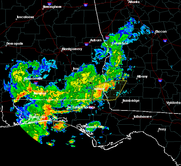Radar Image for Severe Thunderstorms near Colquitt, GA at 7/5/2015 10:20 AM EDT
