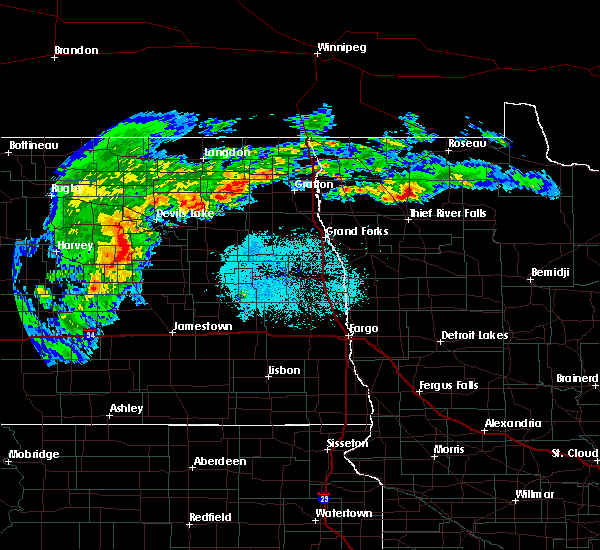 Radar Image for Severe Thunderstorms near Middle River, MN at 7/5/2015 9:48 AM CDT
