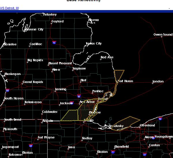 Radar Image for Severe Thunderstorms near Blissfield, MI at 10/23/2020 4:09 PM EDT