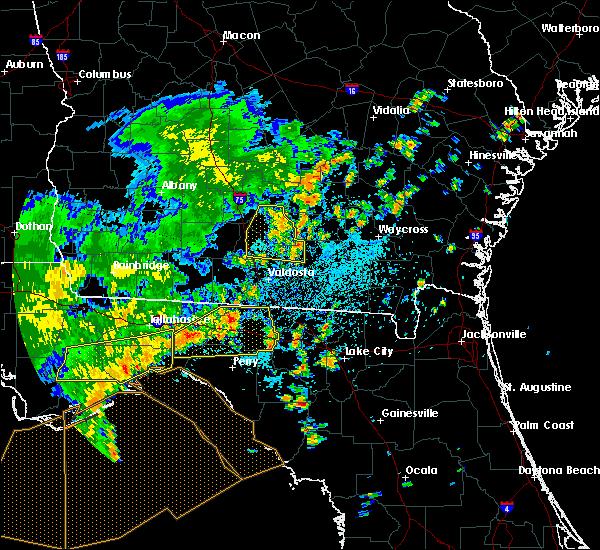 Radar Image for Severe Thunderstorms near Madison, FL at 7/5/2015 1:35 PM EDT