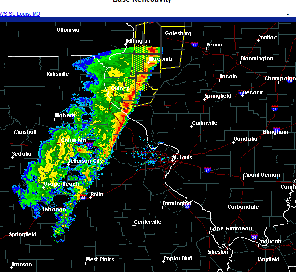 Radar Image for Severe Thunderstorms near Griggsville, IL at 11/10/2020 2:24 PM CST
