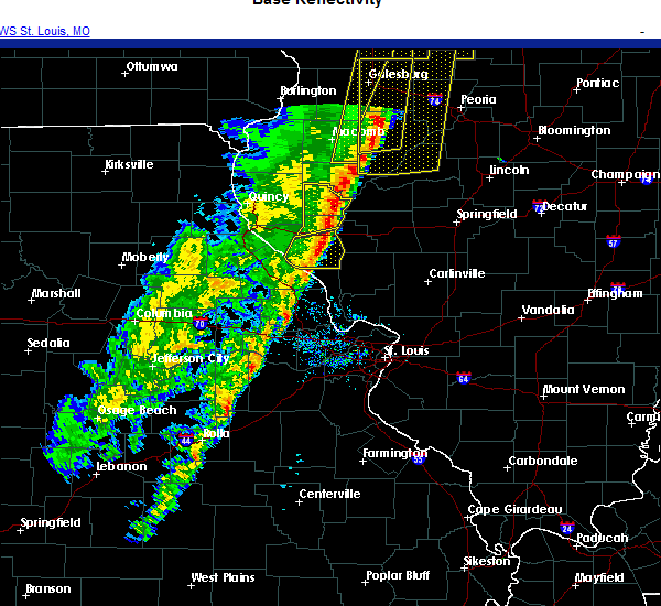 Radar Image for Severe Thunderstorms near Griggsville, IL at 11/10/2020 2:48 PM CST