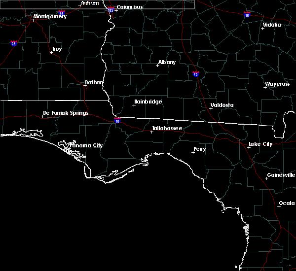 Radar Image for Severe Thunderstorms near St. Marks, FL at 7/5/2015 1:45 PM EDT