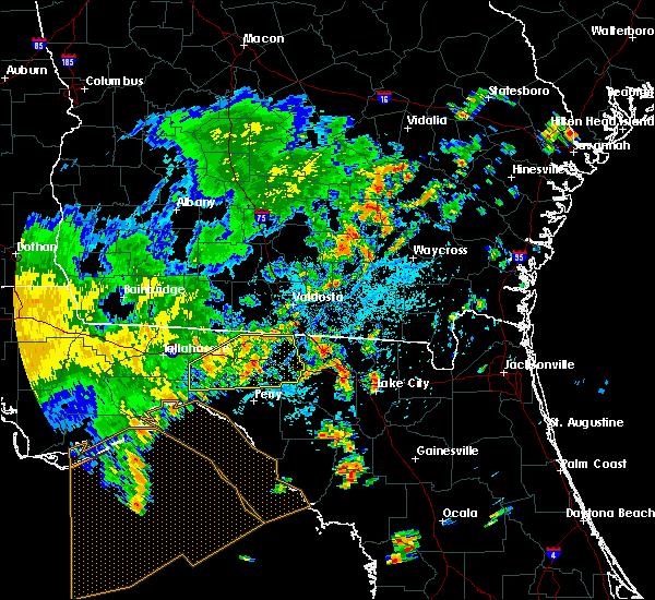 Radar Image for Severe Thunderstorms near Madison, FL at 7/5/2015 2:07 PM EDT