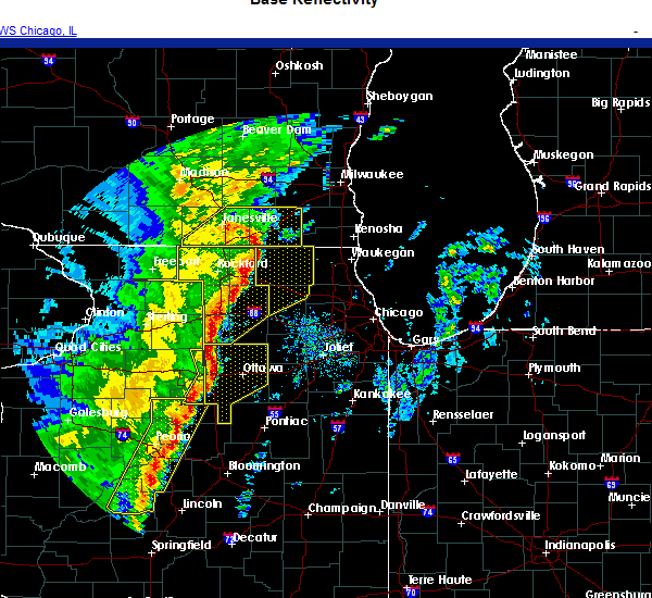 Radar Image for Severe Thunderstorms near Barrington Hills, IL at 11/10/2020 4:13 PM CST