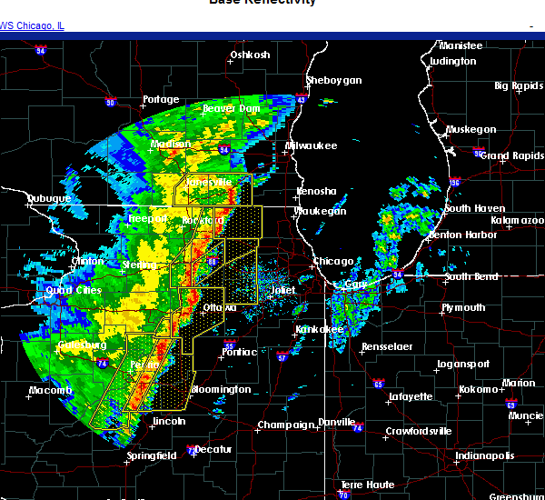 Radar Image for Severe Thunderstorms near Barrington Hills, IL at 11/10/2020 4:20 PM CST