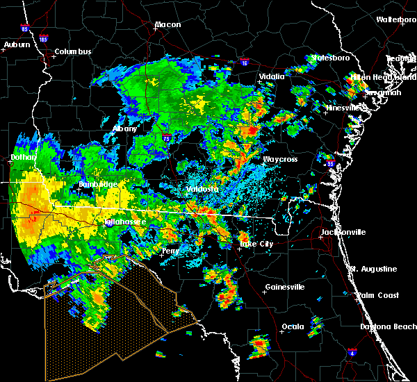 Radar Image for Severe Thunderstorms near Jasper, FL at 7/5/2015 2:25 PM EDT