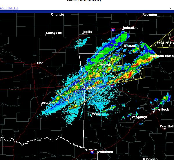 Radar Image for Severe Thunderstorms near Huntsville, AR at 11/14/2020 10:32 PM CST