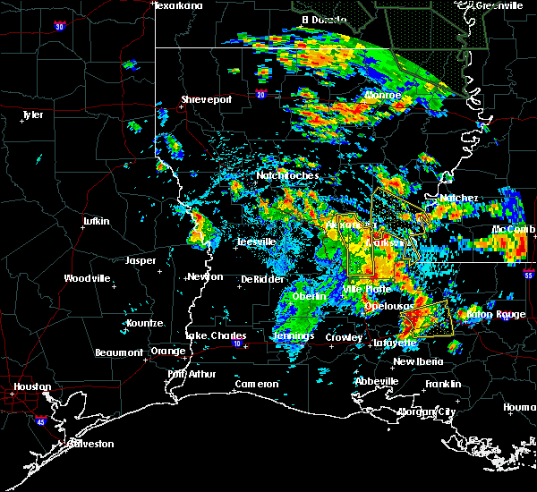 Radar Image for Severe Thunderstorms near New Roads, LA at 7/5/2015 3:04 PM CDT