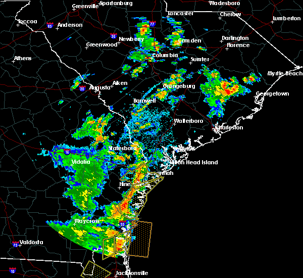 Radar Image for Severe Thunderstorms near Bloomingdale, GA at 7/5/2015 4:32 PM EDT