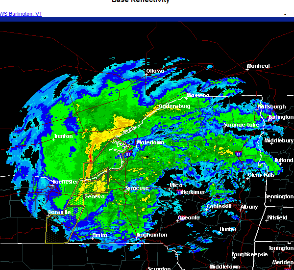 Radar Image for Severe Thunderstorms near Red Creek, NY at 11/15/2020 5:36 PM EST