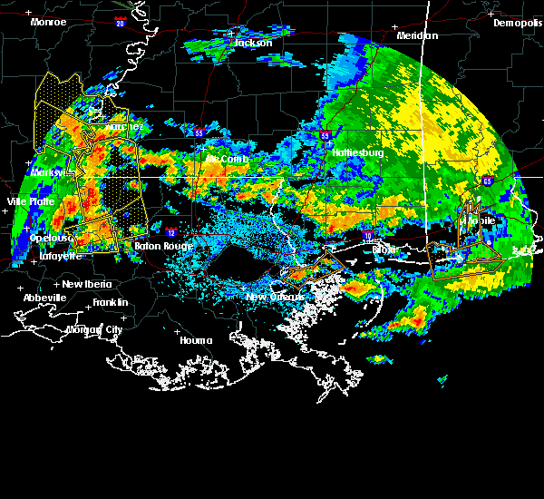 Radar Image for Severe Thunderstorms near Kentwood, LA at 7/5/2015 3:41 PM CDT