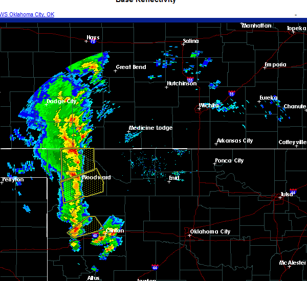 Radar Image for Severe Thunderstorms near Sharon, OK at 11/24/2020 3:30 PM CST