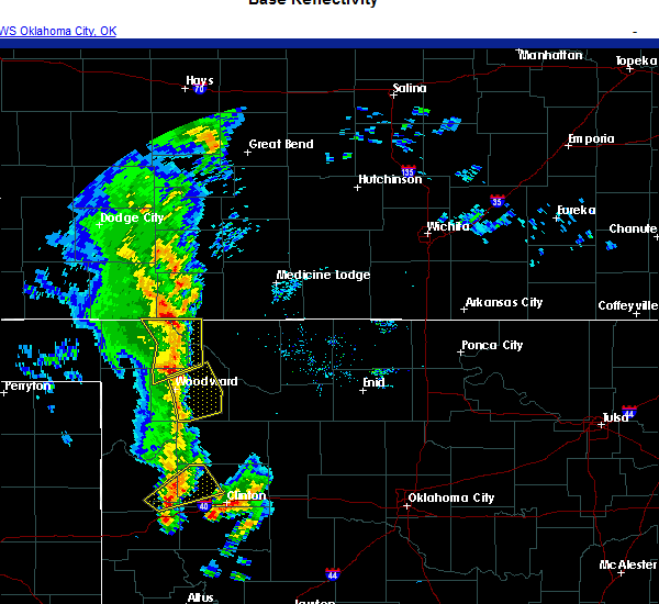 Radar Image for Severe Thunderstorms near Sharon, OK at 11/24/2020 3:39 PM CST