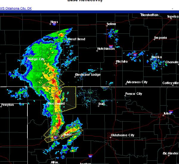 Radar Image for Severe Thunderstorms near Oakwood, OK at 11/24/2020 3:59 PM CST