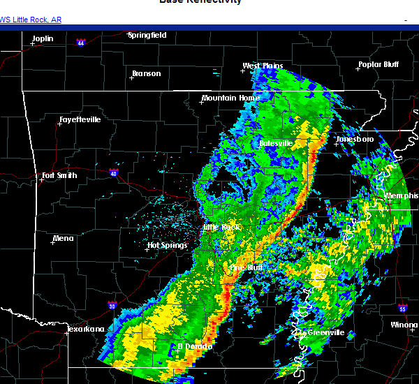 Radar Image for Severe Thunderstorms near Reed, AR at 11/25/2020 2:59 AM CST